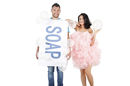 Soap and Loofah Couples Costume Set