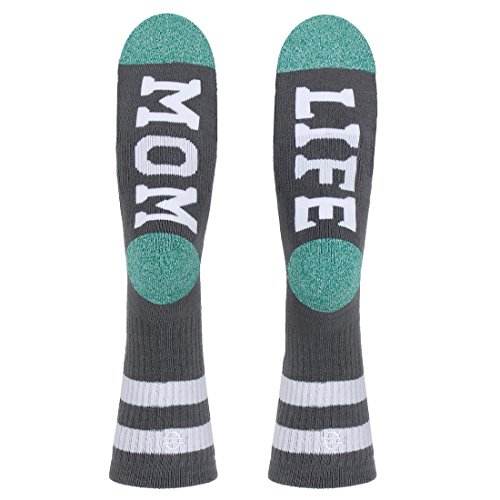 Women's Mom Life Crew Socks
