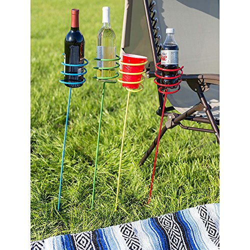Multi-Colored Outdoor Drink Holders