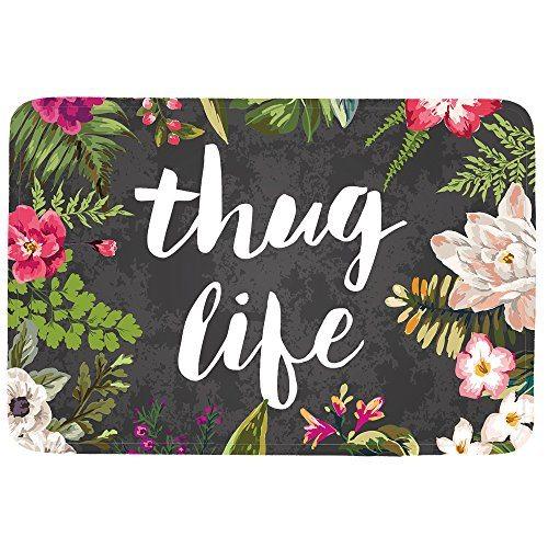 Thug Life Funny Doormat