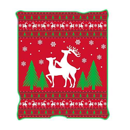 Funny Christmas Throw Blanket