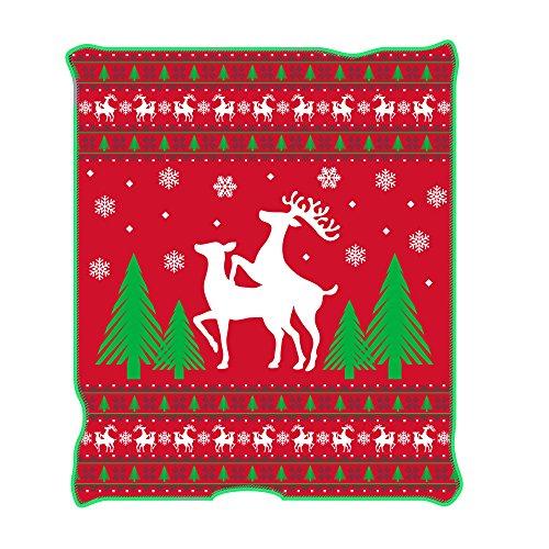 Funny Christmas Throw Blanket