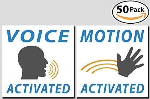 Voice and Motion Activated Prank Stickers