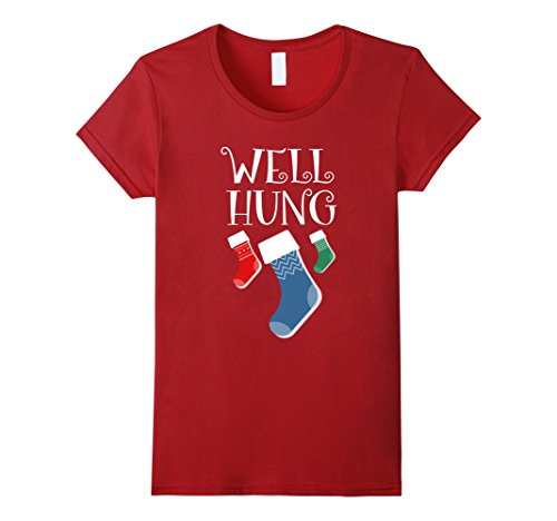 Well Hung Christmas T-Shirt