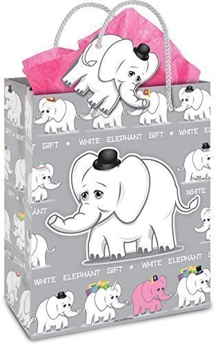 White Elephant Gift Bag
