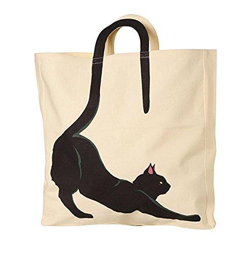 Cat Tail Tote Bag