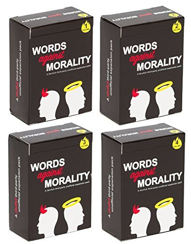 Words Against Morality Four Pack