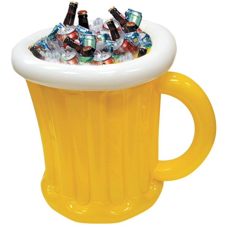 Jumbo Beer Mug Inflatable Cooler