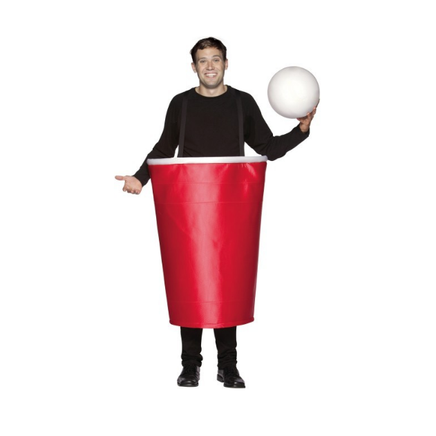 Beer Pong Cup Costume