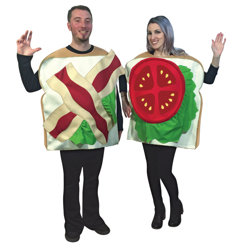 wine and cheese couples costume blt couples costume