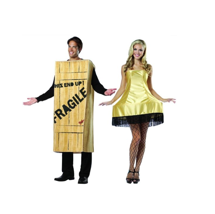 Christmas Story Wooden Crate And Leg Lamp Couples Costume