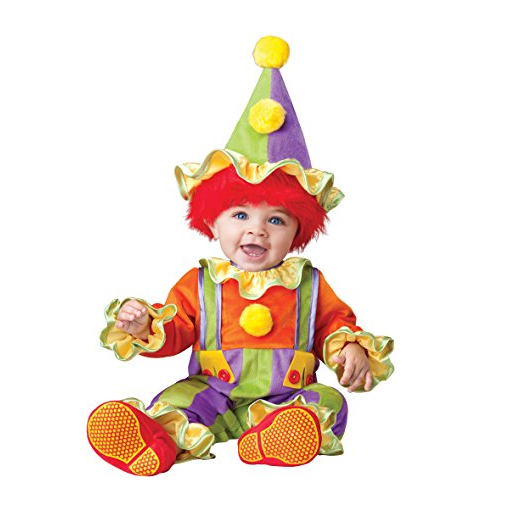 Infant Cuddly Clown Costume