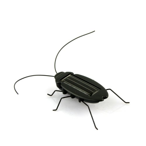 eFashion Solar Power Energy Cockroach Fun Gadget Office School 2
