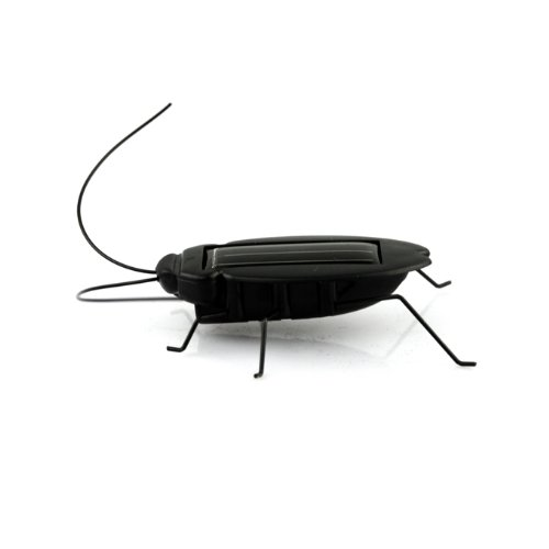 eFashion Solar Power Energy Cockroach Fun Gadget Office School 3