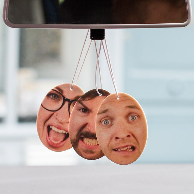 Fresh Face - Personalized Air Fresheners