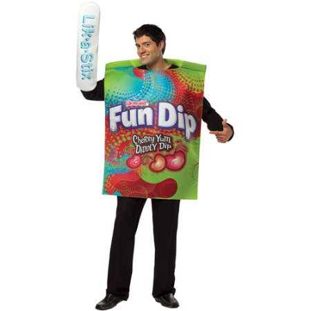 Nestle Fun Dip Package Halloween Costume