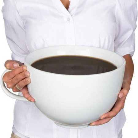 World's Largest Gigantic Coffee Mug