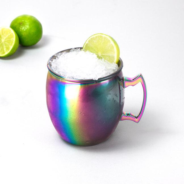 Iridescent Moscow Mule Mug