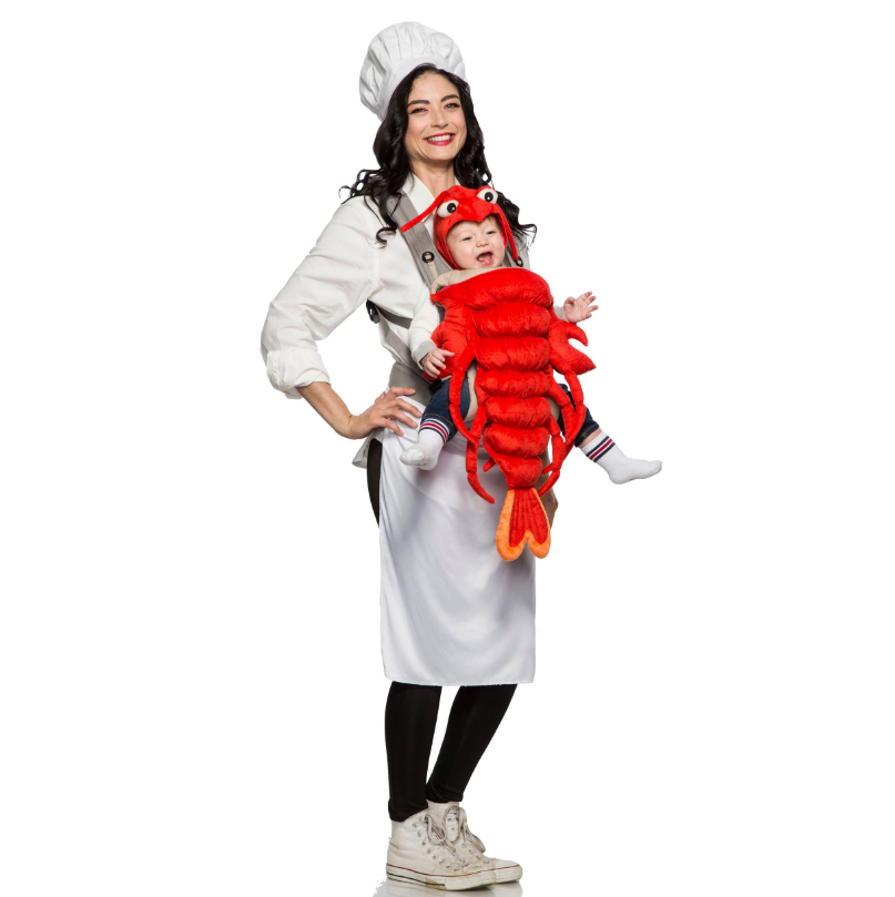 Master Chef and Maine Lobster Mommy and Me Costume