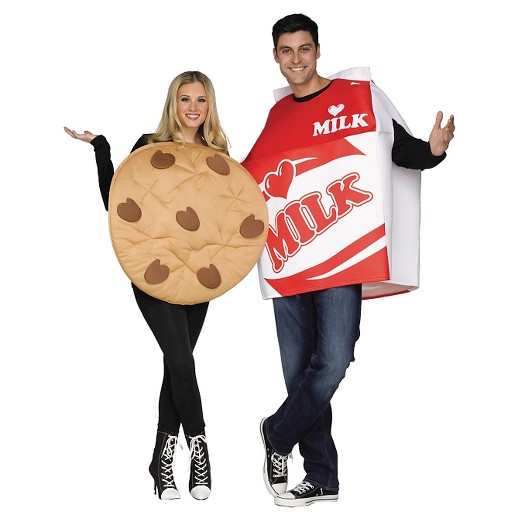 Milk and Cookie Couples Costume