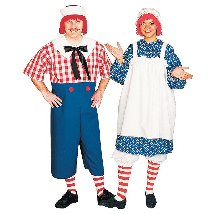 Raggedy Ann and Andy Couples Costume