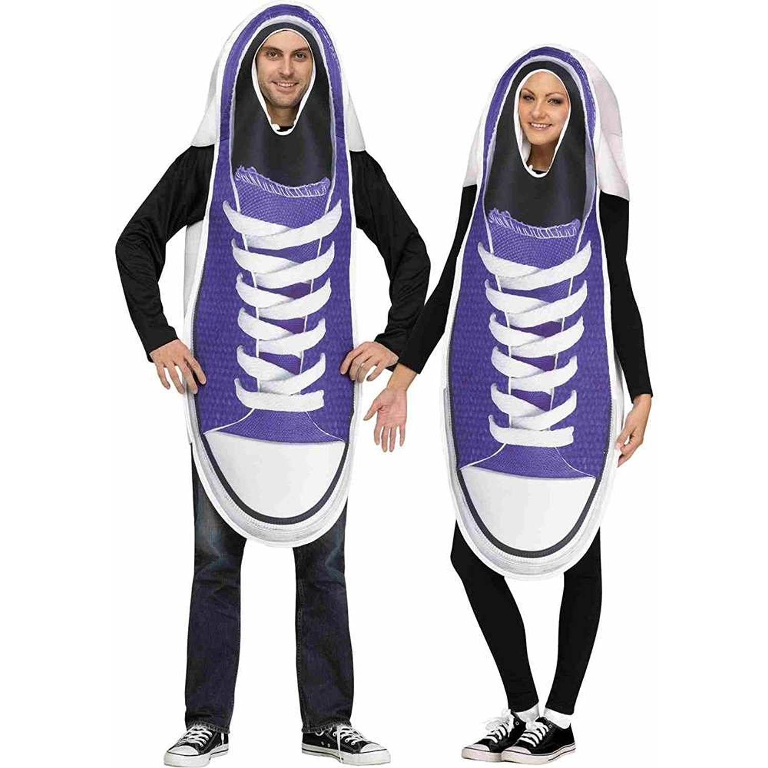 Adult Sneaker Couples Costume Set  sc 1 st  Stop The Boring : couples adult halloween costumes  - Germanpascual.Com