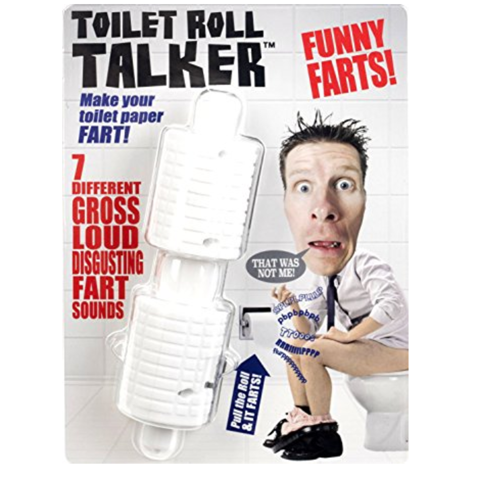 Farting Toilet Roll Talker