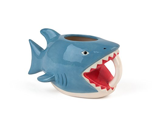 """Bite Me"" Shark Coffee Mug"