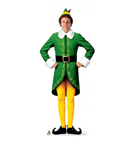 Buddy the Elf Life-Size Cardboard Standup