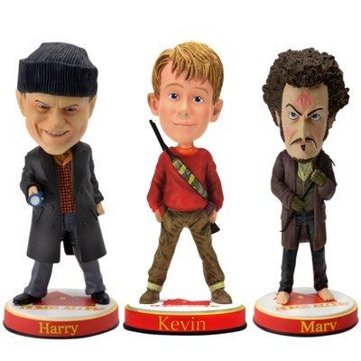 7. Kevin, Harry & Marv Bobbleheads