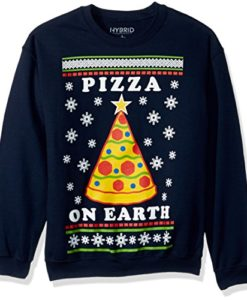 Pizza on Earth Ugly Christmas Sweater