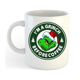 I'm A Grinch Before Coffee Mug