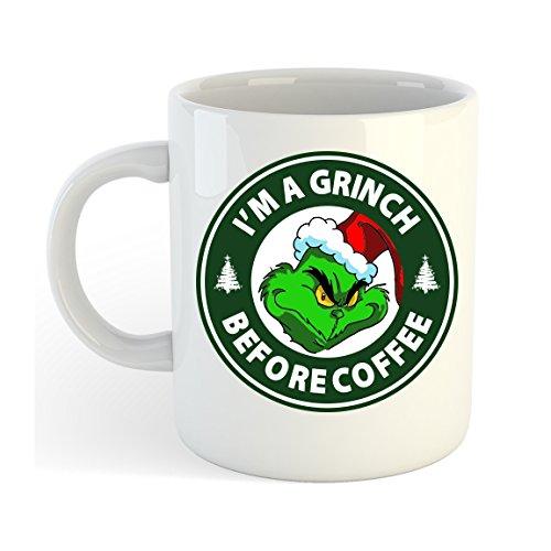 I'm A Grinch Before Coffee Mug
