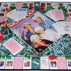 MONOPOLY-The-Golden-Girls-Board-Game–Bonus-2-Gold-Metallic-Cloth-Drawstring-Pouches–Bundled-Items-0-7