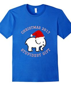 2017 White Elephant Gift Exchange Contest T-Shirt