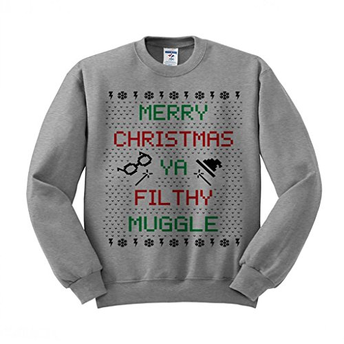 Merry Christmas Ya Filthy Muggle Sweatshirt