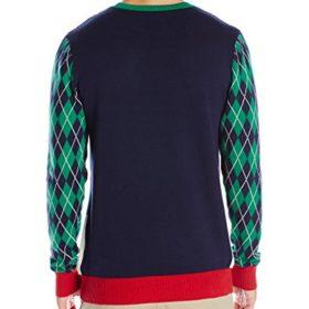 Ugly-Christmas-Sweater-Mens-Winter-Golf-Santa-0-0