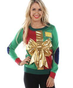 Women's Christmas Present Sweater