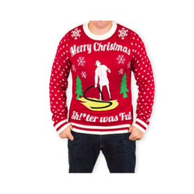Christmas Vacation Cousin Eddie Sh!-ter was Full Ugly Holiday Sweater