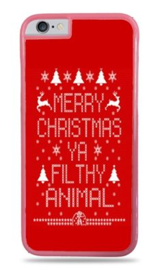 1. Merry Christmas Ya Filthy Animal Phone Case
