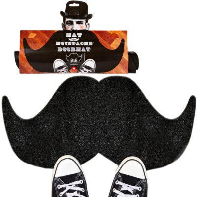 Mustache Doormat