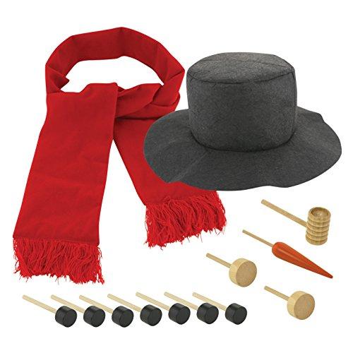 Build a Snowman Decorating Kit