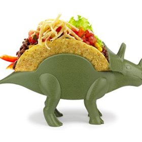 KidsFunwares-TriceraTACO-Taco-Holder-The-Ultimate-Prehistoric-Taco-Stand-for-Jurassic-Taco-Tuesdays-and-Dinosaur-Parties-Holds-2-Tacos-The-Perfect-Gift-for-Kids-and-Kidults-that-Love-Dinosaurs-0