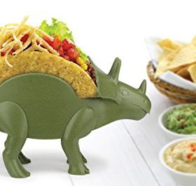 KidsFunwares-TriceraTACO-Taco-Holder-The-Ultimate-Prehistoric-Taco-Stand-for-Jurassic-Taco-Tuesdays-and-Dinosaur-Parties-Holds-2-Tacos-The-Perfect-Gift-for-Kids-and-Kidults-that-Love-Dinosaurs-0-3