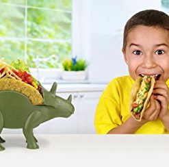 KidsFunwares-TriceraTACO-Taco-Holder-The-Ultimate-Prehistoric-Taco-Stand-for-Jurassic-Taco-Tuesdays-and-Dinosaur-Parties-Holds-2-Tacos-The-Perfect-Gift-for-Kids-and-Kidults-that-Love-Dinosaurs-0-5