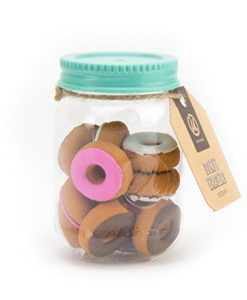12-Count Novelty Donut Erasers