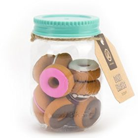 12-Count Novelty Donut Erasers