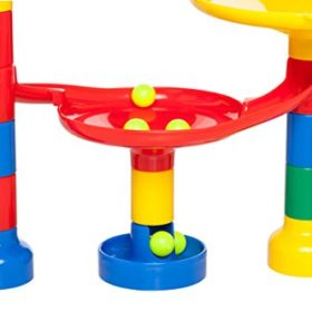 Marble-Run-Maze-Ball-Game-85-Piece-Marble-Maze-STEM-Educational-Toys-for-Kids-Set-Includes-50-Marbles-0-3